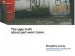 Boj s použitými pneu