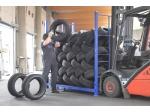 ECOTIRErack - nový standard Gebhardt pro skladování pneumatik