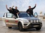 Euroasijský rekord na pneumatikách Goodyear