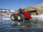 Pneumatiky Mitas na zamrzlém Bajkalu