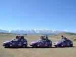 Tři české posádky na Mongol Rally 2017