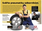 PNEU REVUE podporuje prodej pneumatik v pneuservisech