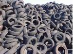 Půl milionu pneumatik do asfaltu