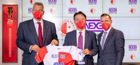 Nexen sponzoruje fotbalovou Slavii